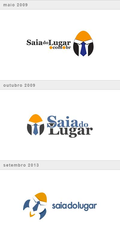Túnel do tempo do nosso logotipo